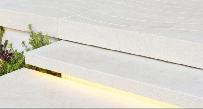 melbourne electrician install LED strip lighting for outdoor stairs