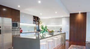 LED light installation by Melbourne electrician