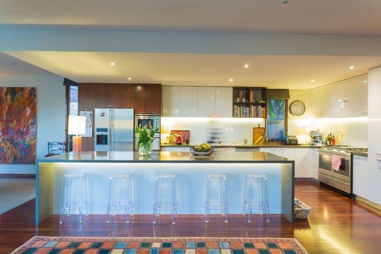 Melbourne Electrician - kitchen LED lighting upgrade