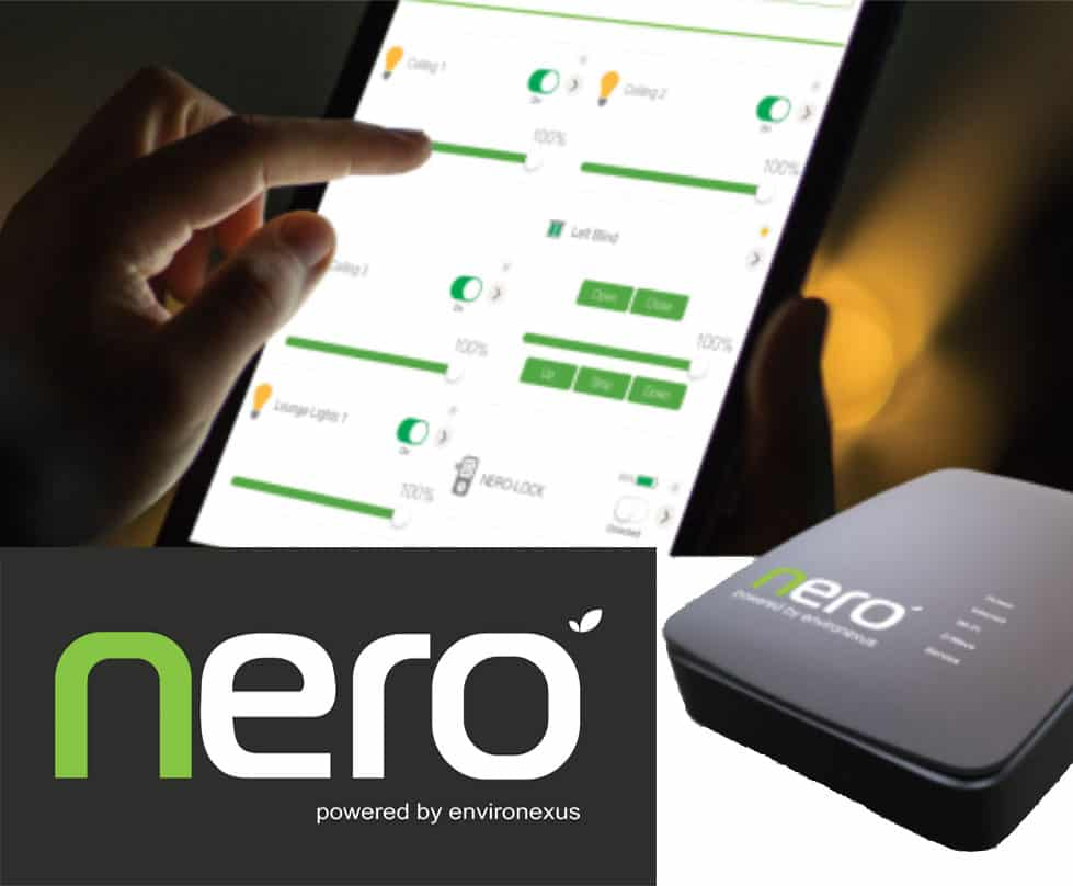 Nero smart home automation. Control using ipad